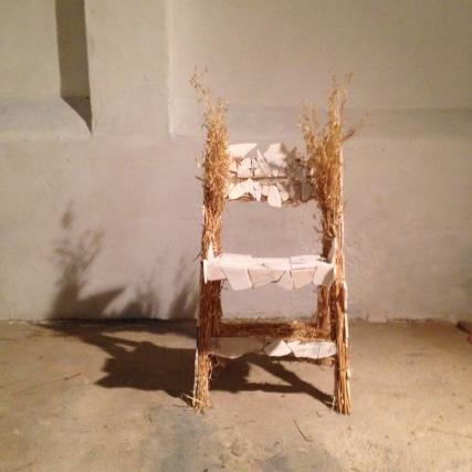 Marble, wheat, chair